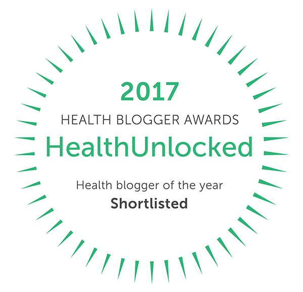Health Blogger of The Year Nominee
